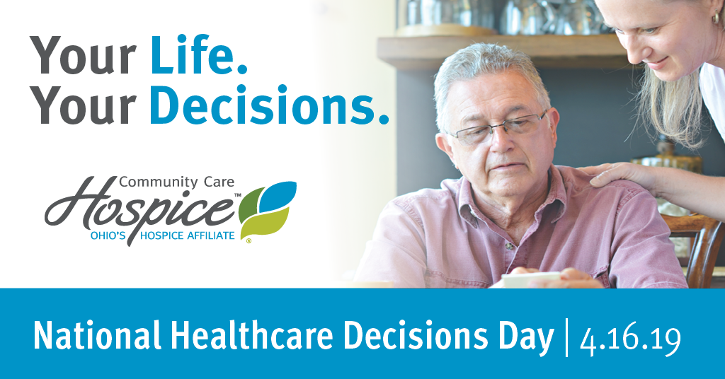 Community Care Hospice Joins In National Healthcare Decisions Day Effort