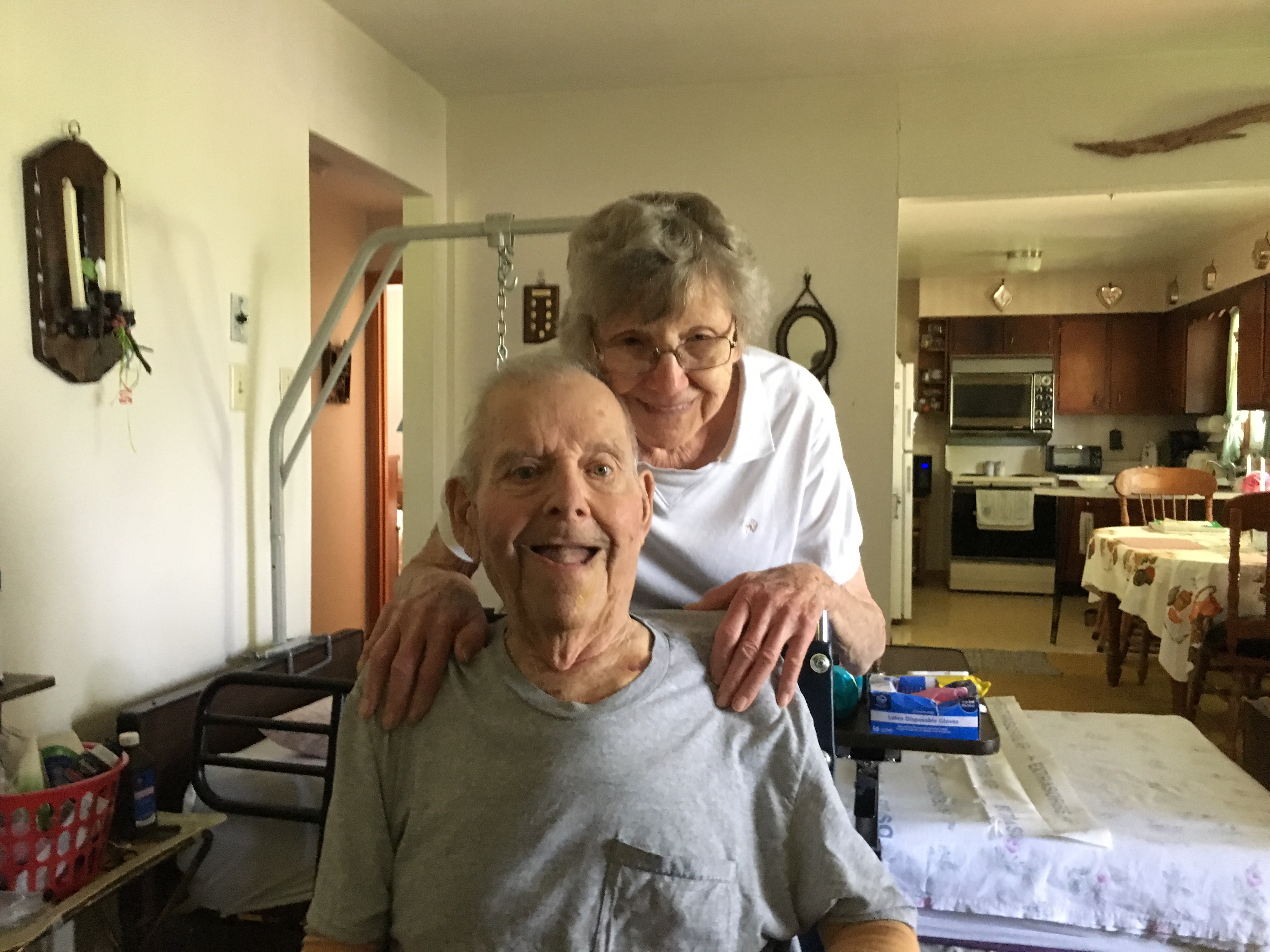 """Blue Sky"" Anniversary Celebrated By Danville Couple"