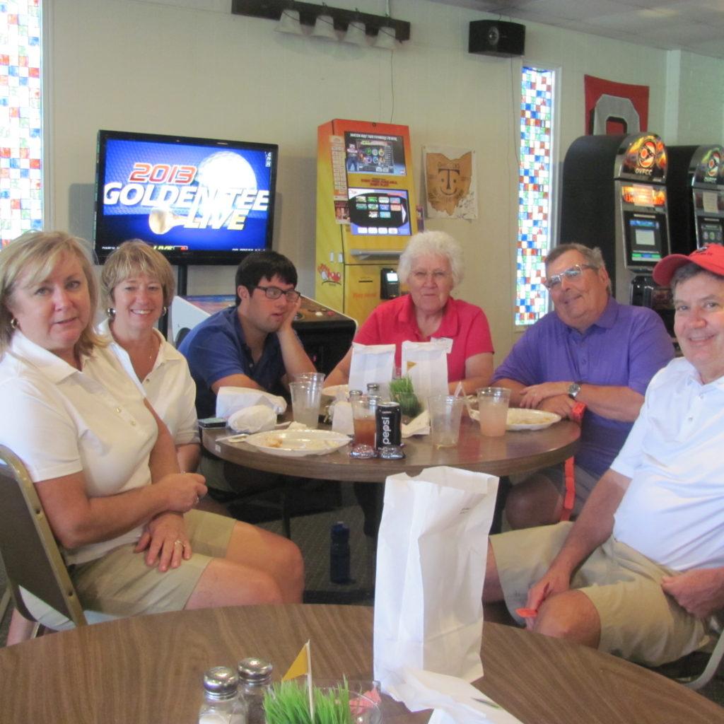 Rita Cramton & Family