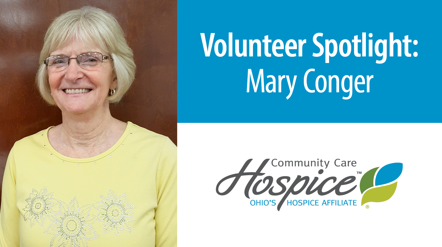 Volunteer Mary Conger Provides Comfort, Support To Patients And Families