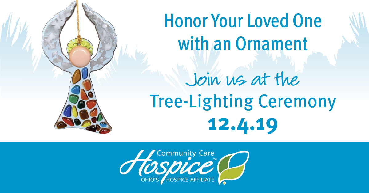 Hospice Angel Care Tree Ornaments