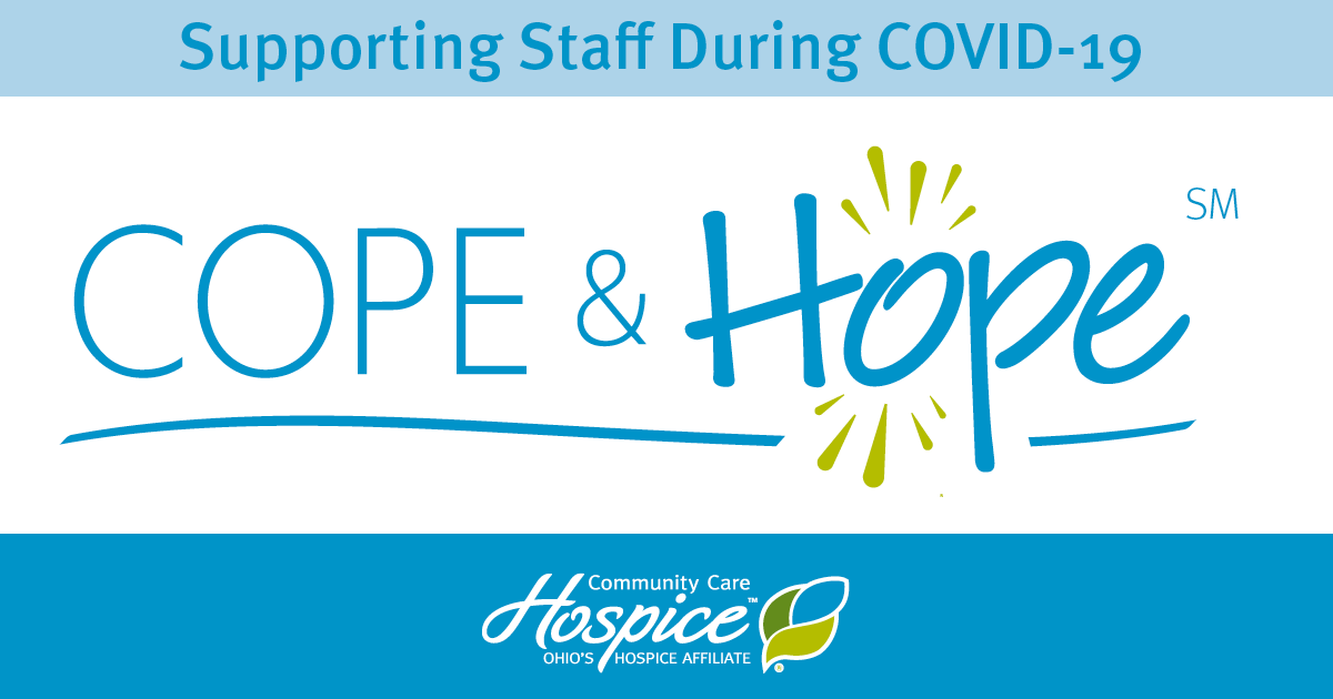 Cope & Hope℠ Program Supports Ohio's Hospice And Pure Healthcare Staff During COVID-19
