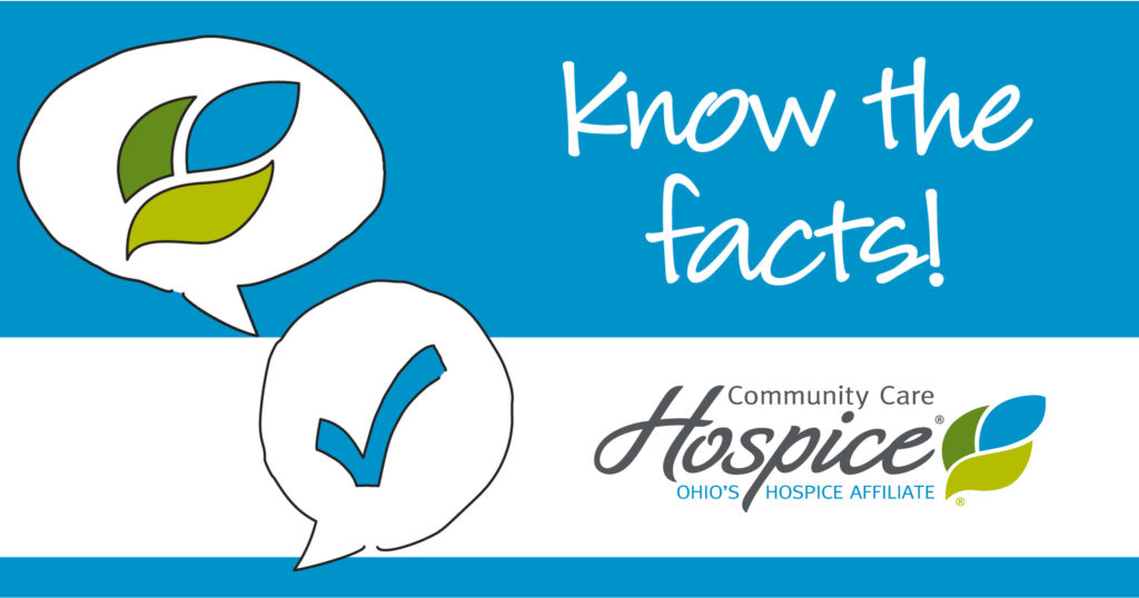 Know the facts! Community Care Hospice